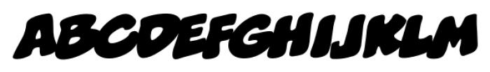 Boogers BB Italic Font LOWERCASE