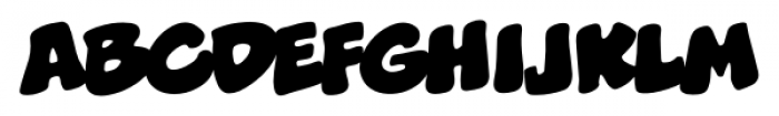 Boogers BB Regular Font LOWERCASE