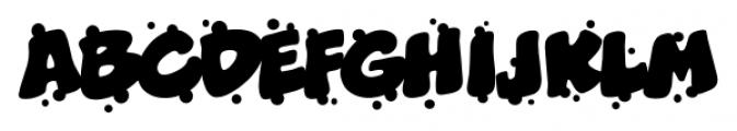 Boogers Sneeze BB Regular Font LOWERCASE