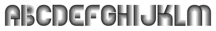Boogie Monster Regular Font UPPERCASE