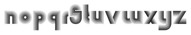 Boogie Monster Regular Font LOWERCASE