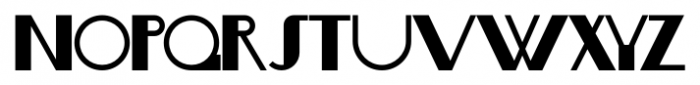 Boogie Nights NF Pro Regular Font LOWERCASE