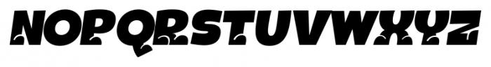 Bototo Italic Font UPPERCASE