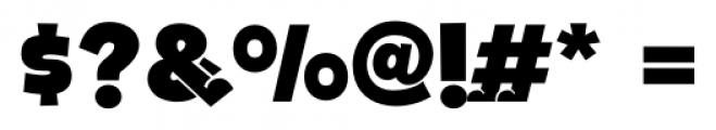 Bototo Regular Font OTHER CHARS