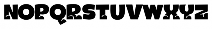 Bototo Regular Font UPPERCASE