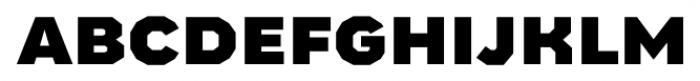 Bowie Black Font LOWERCASE