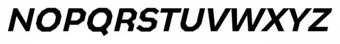 Bowie Medium Italic Font LOWERCASE