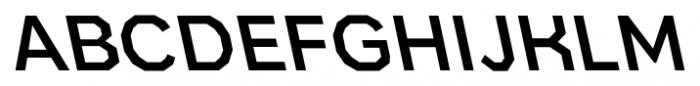 Bowie Medium R Italic Font UPPERCASE