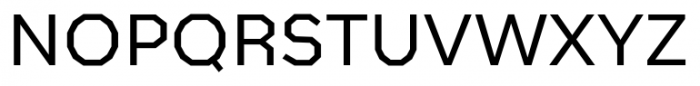 Bowie Regular Font UPPERCASE