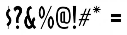 Box Lunch JNL Regular Font OTHER CHARS