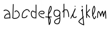 Boyscout Regular Font LOWERCASE