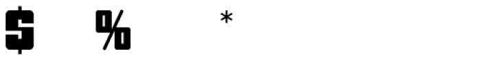 BONGO Font OTHER CHARS