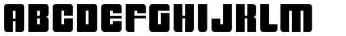 BONGO Font UPPERCASE