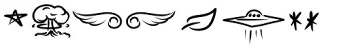 BOOM Symbols Font UPPERCASE