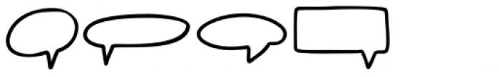 BOOM Symbols Font LOWERCASE