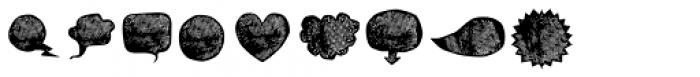 BOWL Dingbat Two Font UPPERCASE
