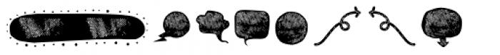 BOWL Dingbat Two Font LOWERCASE