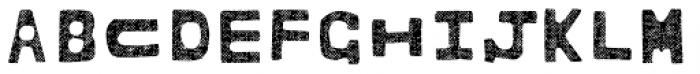BOWL Layer Three Font LOWERCASE
