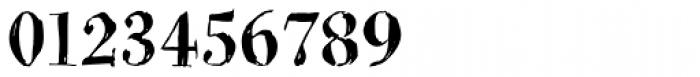 BoRock Grunge Font OTHER CHARS