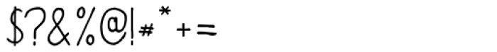 BoRock Slick Font OTHER CHARS