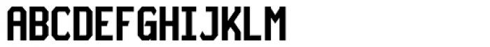 Board Deluxe Regular Font UPPERCASE