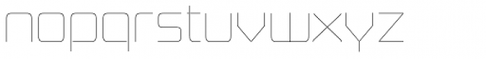 Board of Directors UltraLight Font LOWERCASE