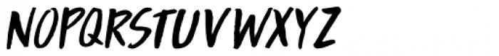 Boarding House II Italic Font UPPERCASE