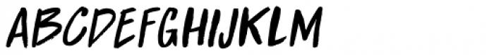 Boarding House II Italic Font LOWERCASE