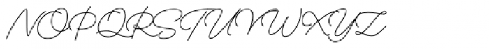 Boardwalk Avenue Pen Regular Font UPPERCASE