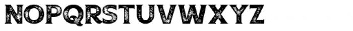 Boardwalk Avenue Rough Serif Bold Font UPPERCASE