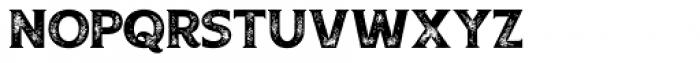 Boardwalk Avenue Rough Serif Bold Font LOWERCASE