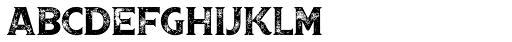 Boardwalk Avenue Rough Serif Regular Font LOWERCASE