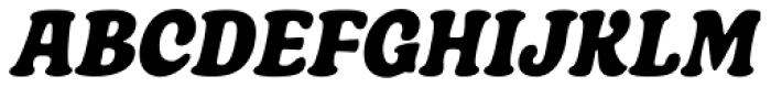 Boardwalk Condensed Italic Font UPPERCASE