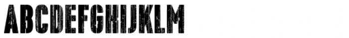 Bobbin Bold Font LOWERCASE