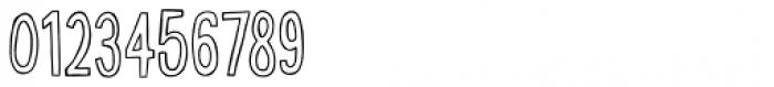 Bobby Jones Condensed Outline Font OTHER CHARS