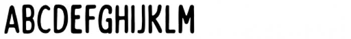Bobby Jones Soft Condensed Regular Font LOWERCASE