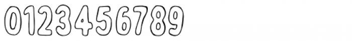 Bobby Jones Soft Outline Font OTHER CHARS
