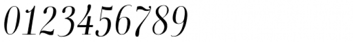 Boberia Light Italic Font OTHER CHARS