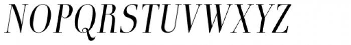 Boberia Light Italic Font UPPERCASE