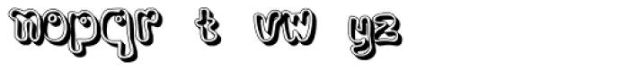 Bobolha Special Font LOWERCASE