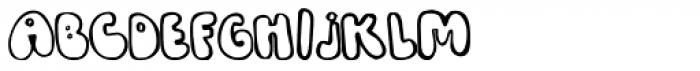 Bobolha Font UPPERCASE