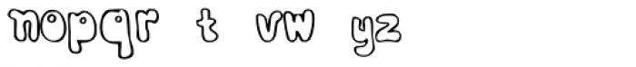 Bobolha Font LOWERCASE