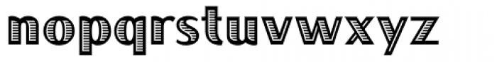 Boca Raton ICG Font LOWERCASE