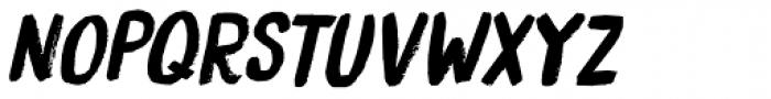 Bocadillo Italic Font UPPERCASE