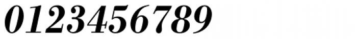 Bodoni Antiqua Demi Bold Italic Font OTHER CHARS