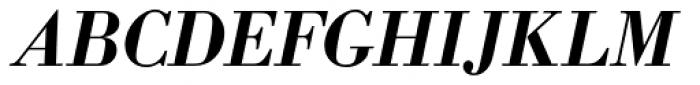 Bodoni Antiqua Demi Bold Italic Font UPPERCASE