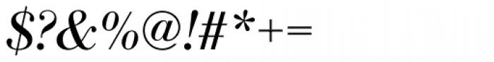 Bodoni Antiqua Italic Font OTHER CHARS