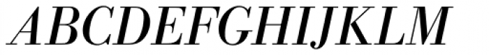 Bodoni Antiqua Italic Font UPPERCASE