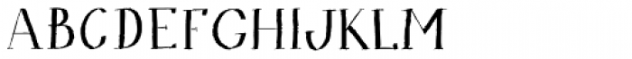 Bodoni At Home Font LOWERCASE