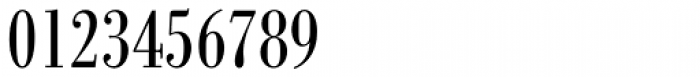 Bodoni Berthold BQ Cond Font OTHER CHARS